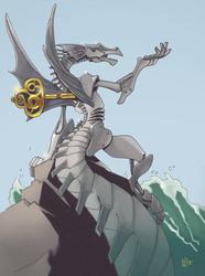 Clockwork dragoness