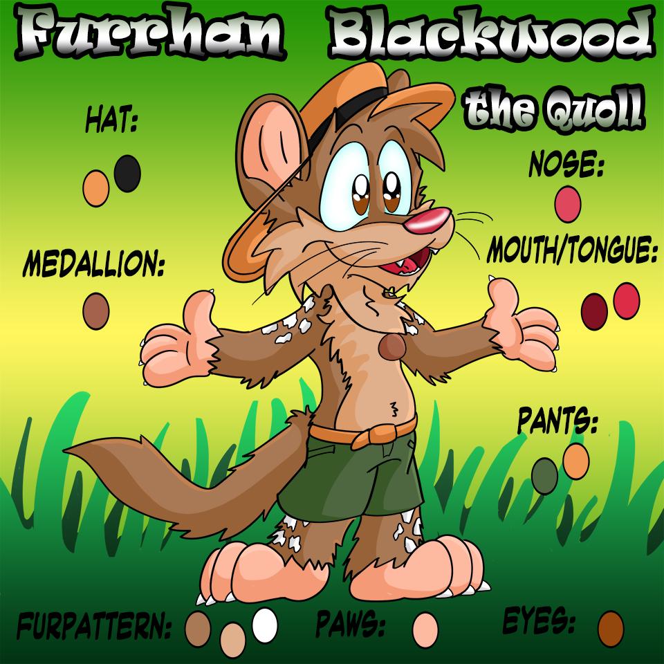 Most recent image: Furrhan Blackwood ref