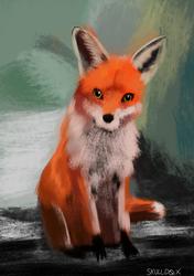 4/4/21 Speedpaint - Fox 2