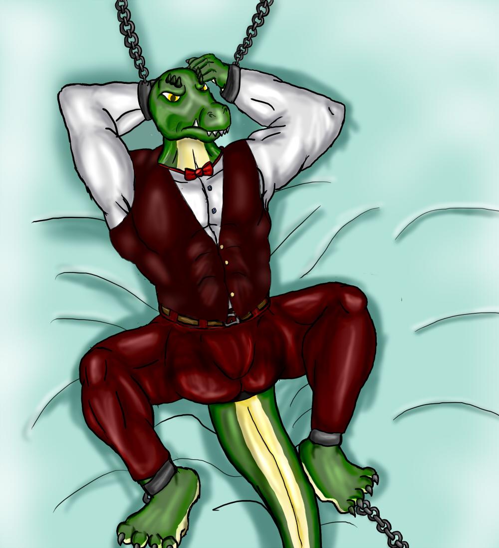 captured Croc 1/14
