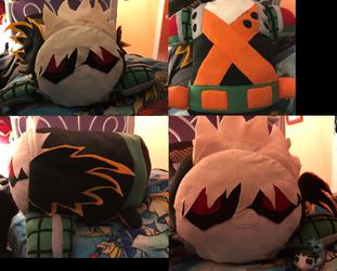My Hero Academia Katsuki Bakugou XL Stacking Plush made for myself