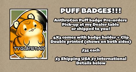 Puff Badges