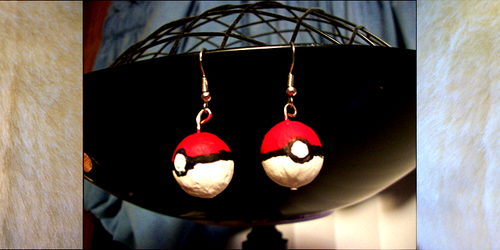 Assorted Pokeball Earrings