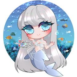 Aquatica Andrista Chibi ♥ Speedpaint