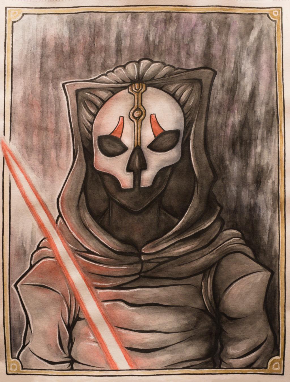 Watercolor: Darth Nihilus