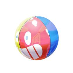 Rubber Beach Ball Practice