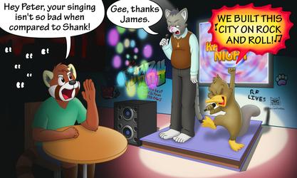 Furry Karaoke Night