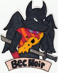 Bec Noir Badge Example