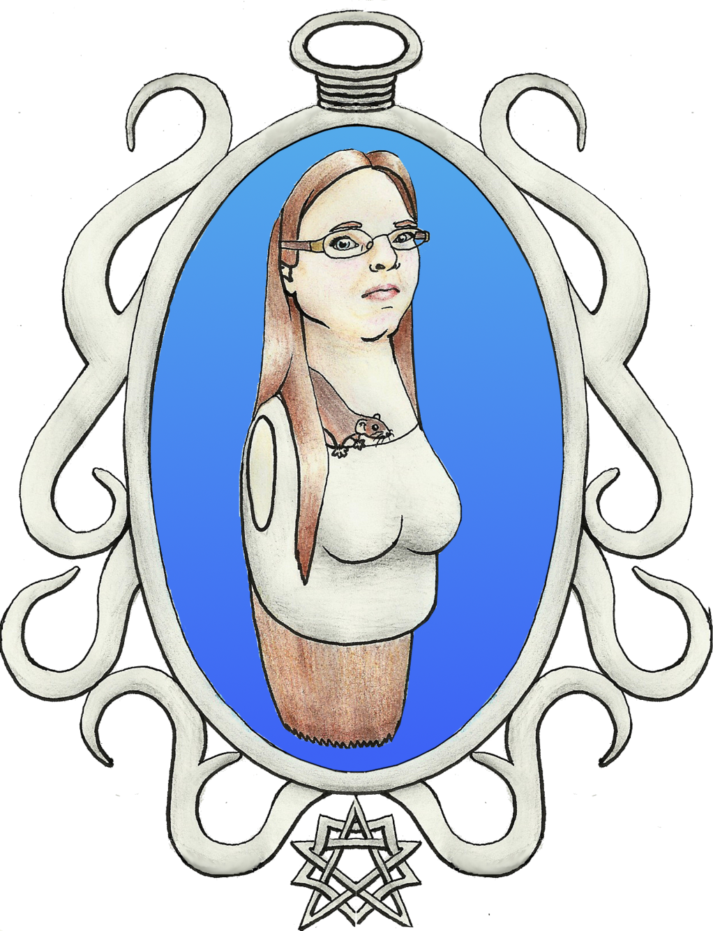 Star Bust and Frame