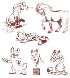 Palette Sketches