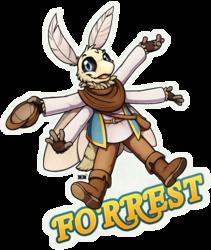 Forrest Full Body Badge