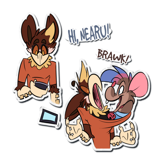 Hi Nearu (Sticker)