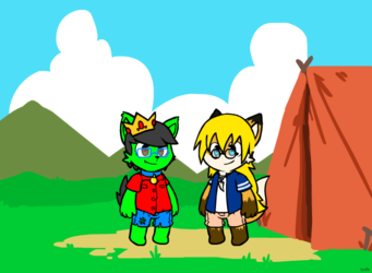 Camping Friends <3