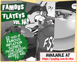 Famous 'Flateys Volume 10 is Out!