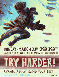 Try Harder! My Panel @ FWA2014 [REFRESH for updated time]