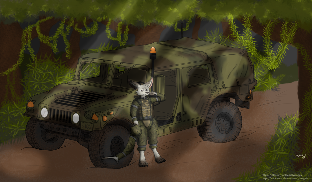 Vulp Selach Infantry Commander Commission