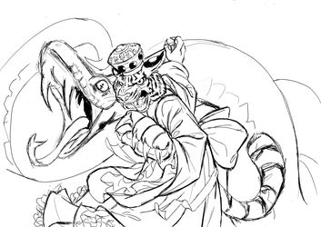 Snake Charmer (WIP without shadows)