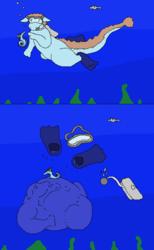 [Commission] Daea's Underwater Adventure