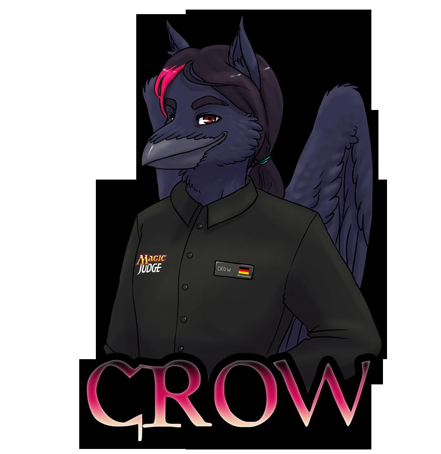 Crow Magic Judge Badge