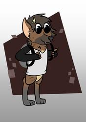 Max the Hyena