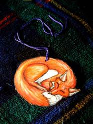 Cuddlefox Ornament