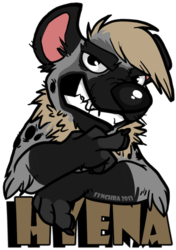 Hyena Badge