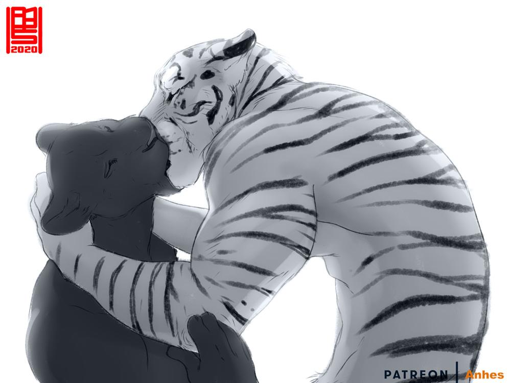 Kittens Kiss