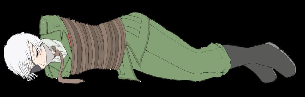 Alex Bound (laying)