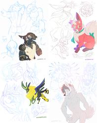 Patreon rewards - Sketch pages