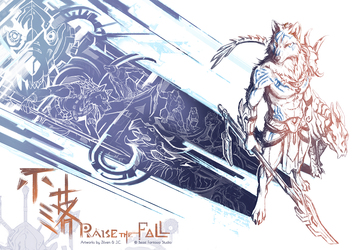Raise The Fall - concept sketch book