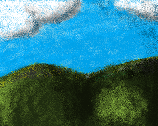 microsoft paint challenge - sunny hills