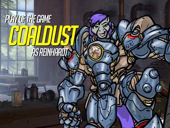 Play of the Game Badge: Coaldust