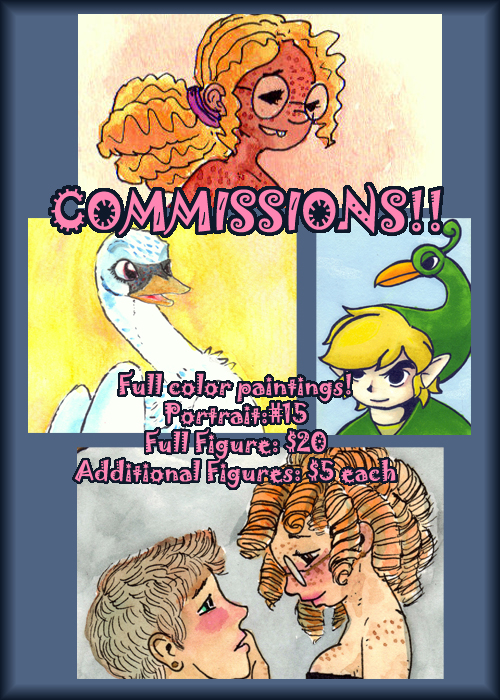 Most recent image: Commissions?!