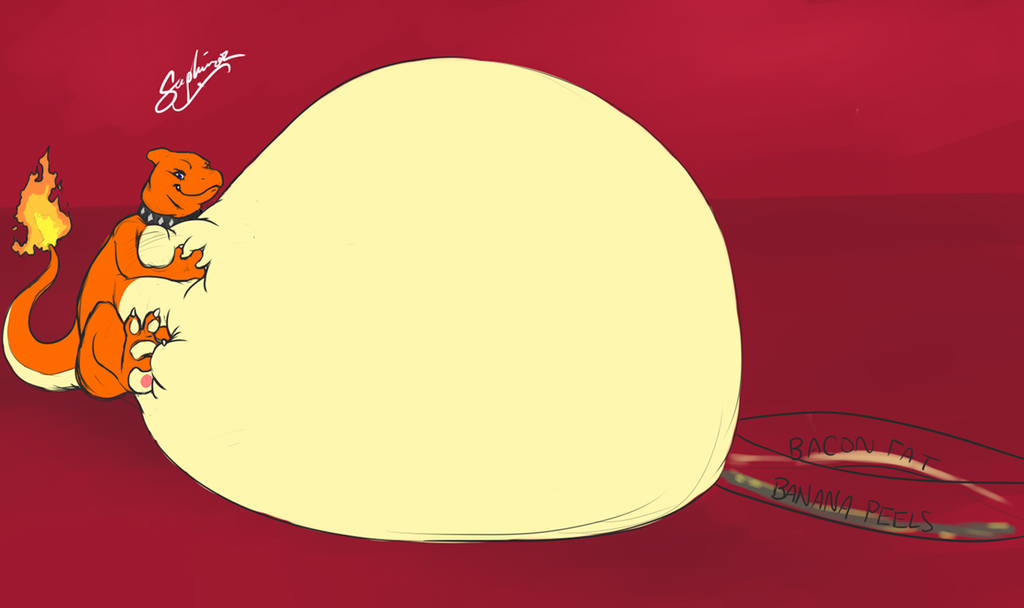 Bulging Belly Bests Bigger Beast! Part 2 - by Saphiros