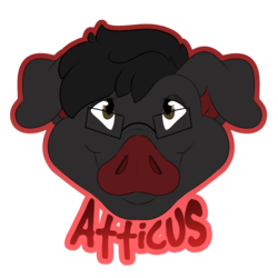 Atticus MFF Badge (by BerryWoof)