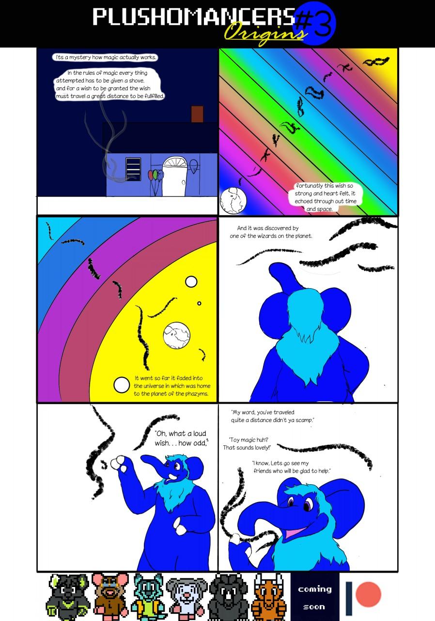Plushomancers Origins #3