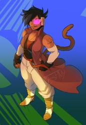 Xenoverse Saiyan (COMMISSION)