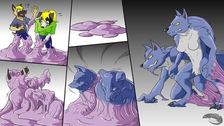 were wolf goo TF (commission art)