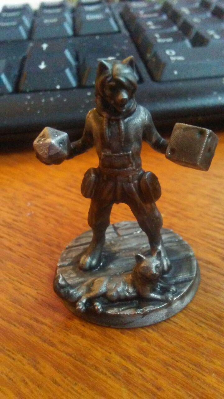 My Wolf gamer, in mini form
