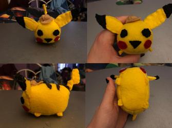 Pokemon Detective PIkachu Stackable Tsum Plush gift for raindropmagic