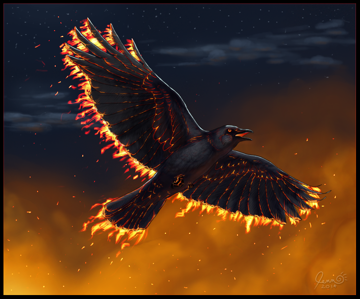 Most recent image: Ember Crow