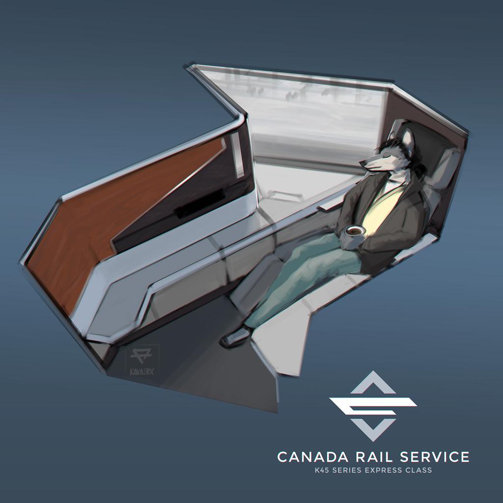 Canada Rail Service: K45 express class