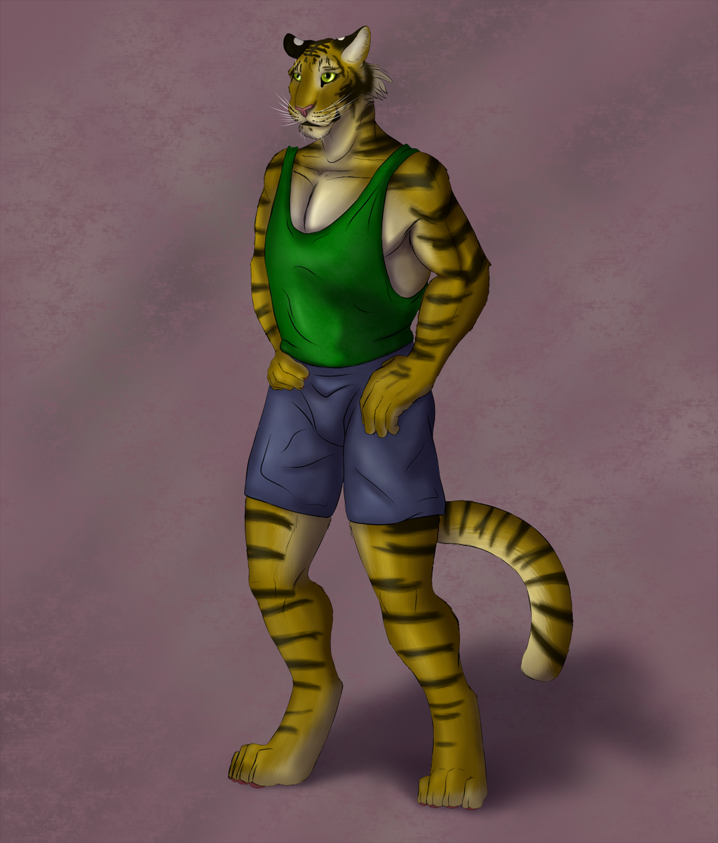 Tiger/Coloring Practice