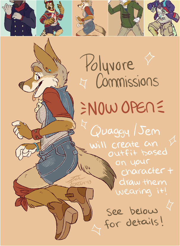Polyvore Commissions Open!