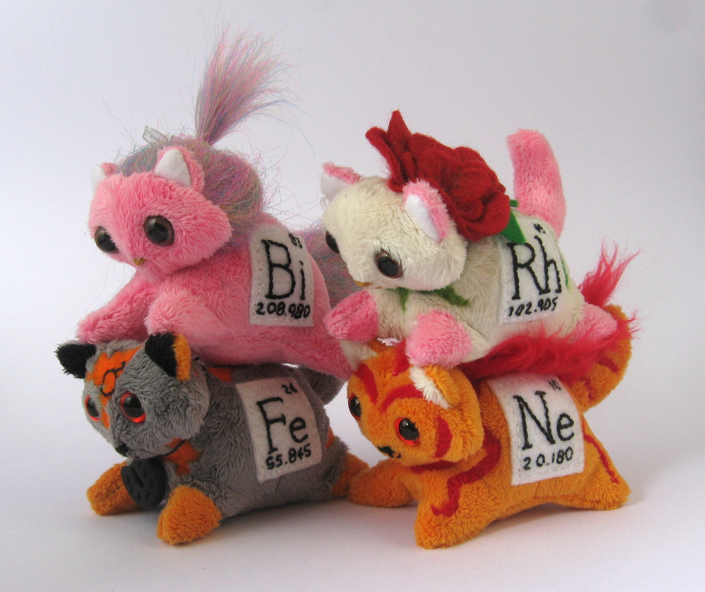 Elemental Cats: batch 2