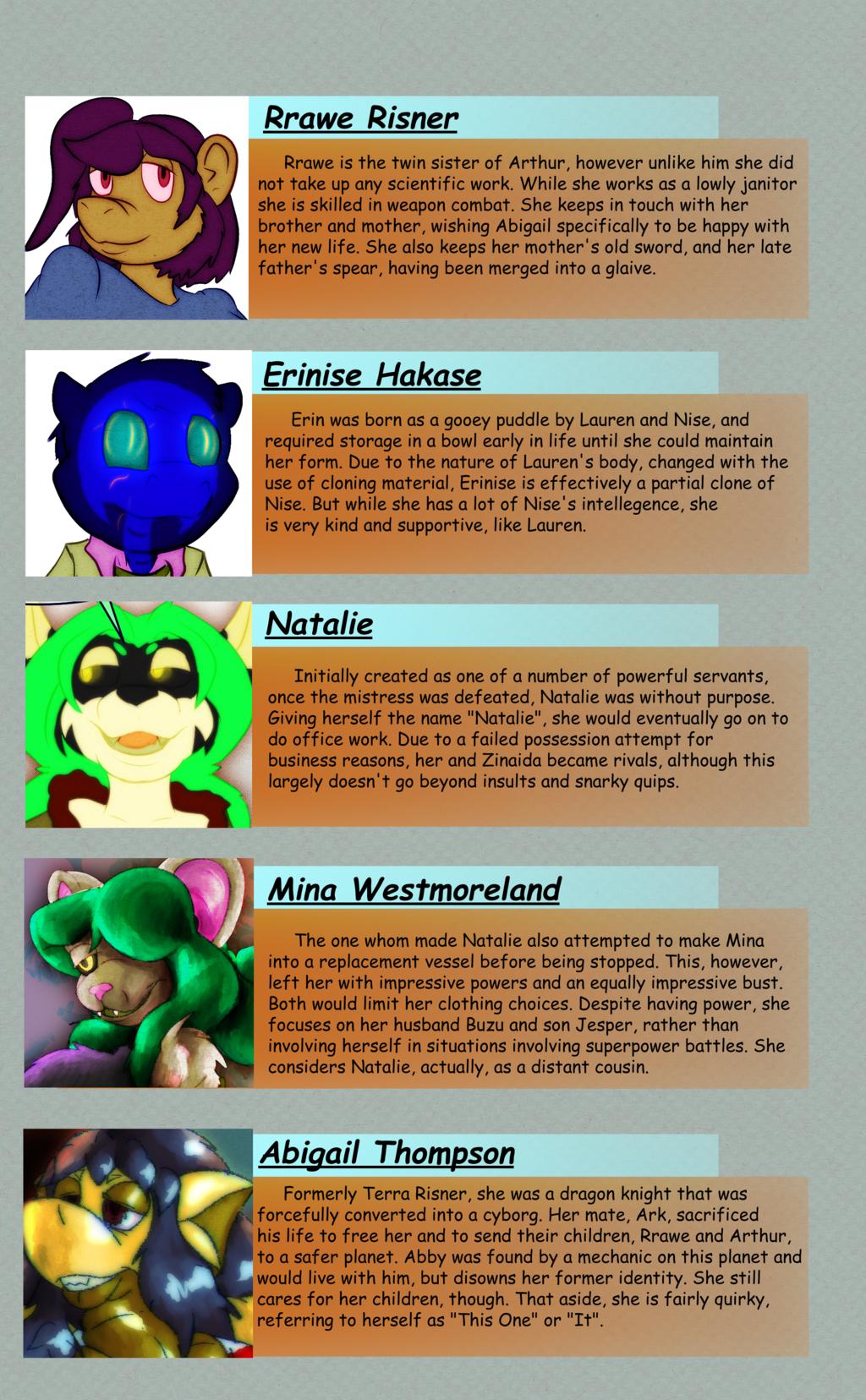 Character List 2