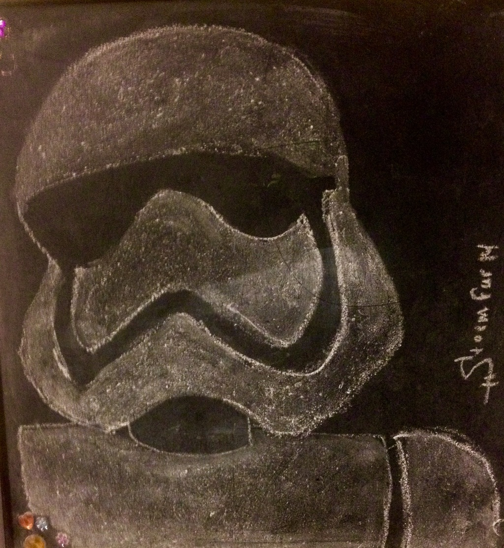 Chalk Stormtrooper