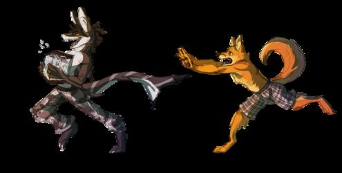 Malestorm and Shiba