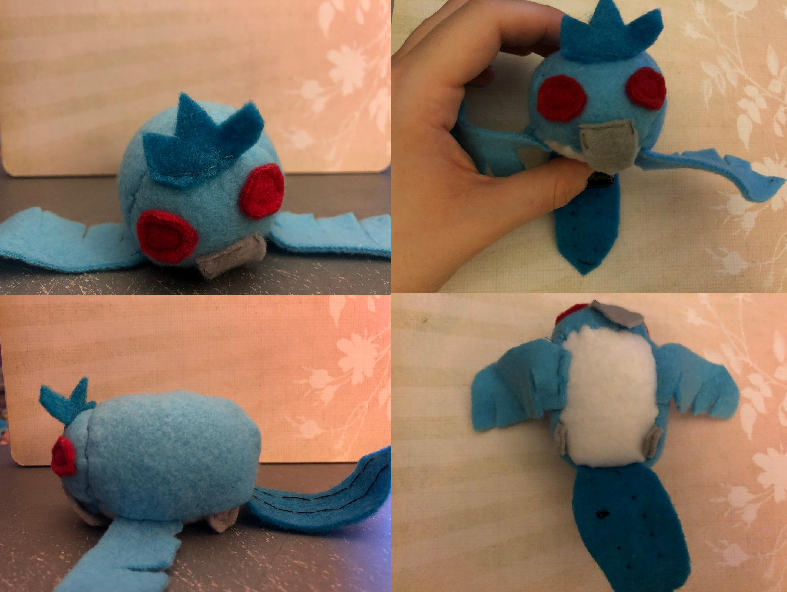 Pokemon Articuno Stacking Plush Made for myself