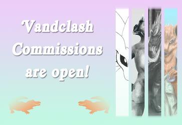 Vandclash Commissions are Open!